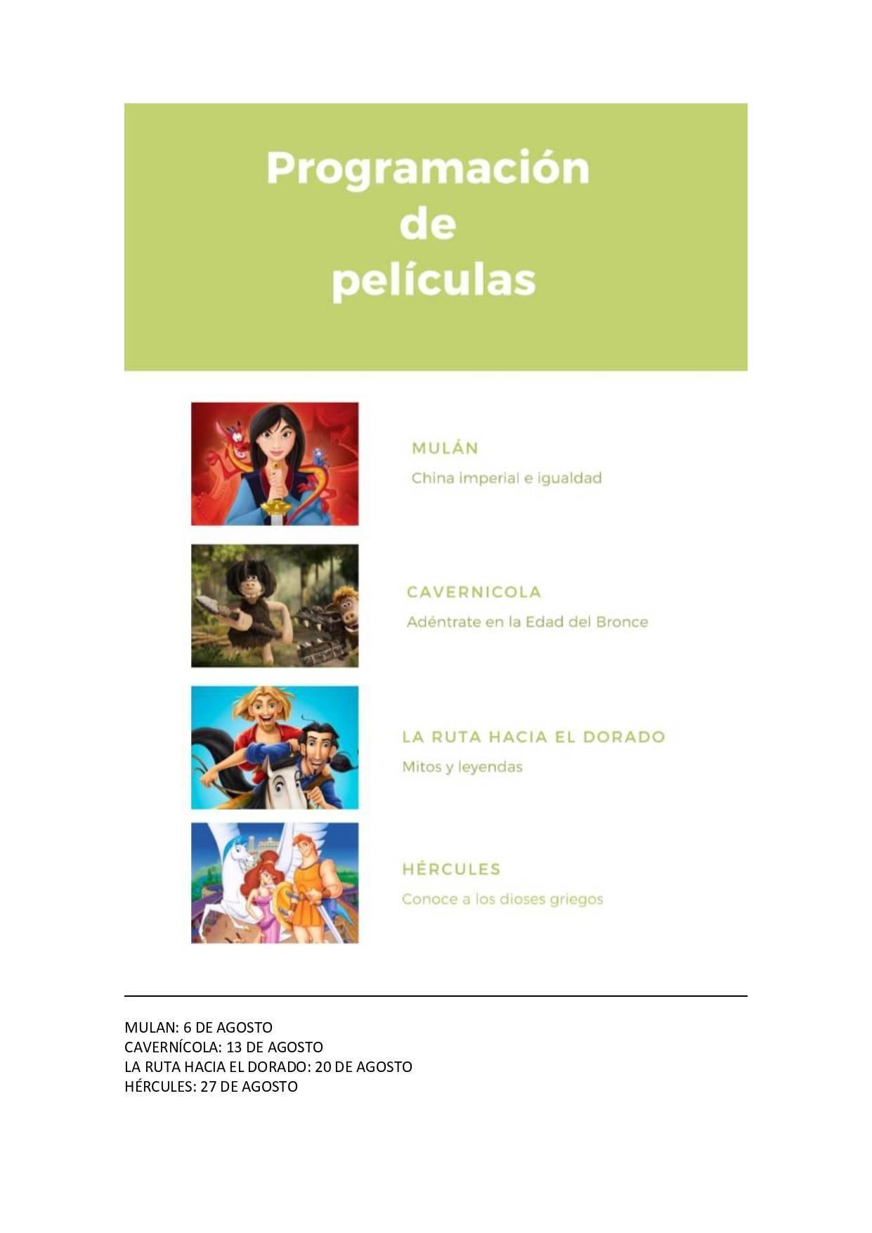 Cine de verano 2020 - Jerez de la Frontera (Cádiz) 3