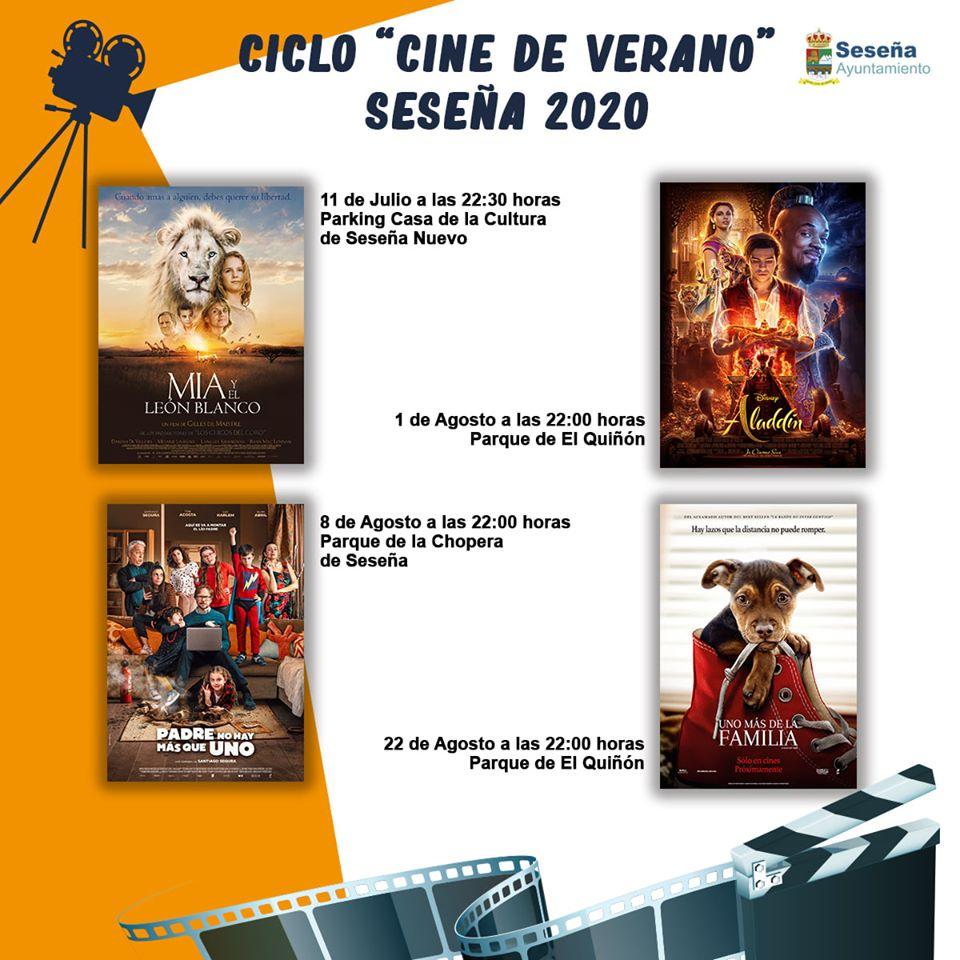 Cine de verano 2020 - Seseña (Toledo)
