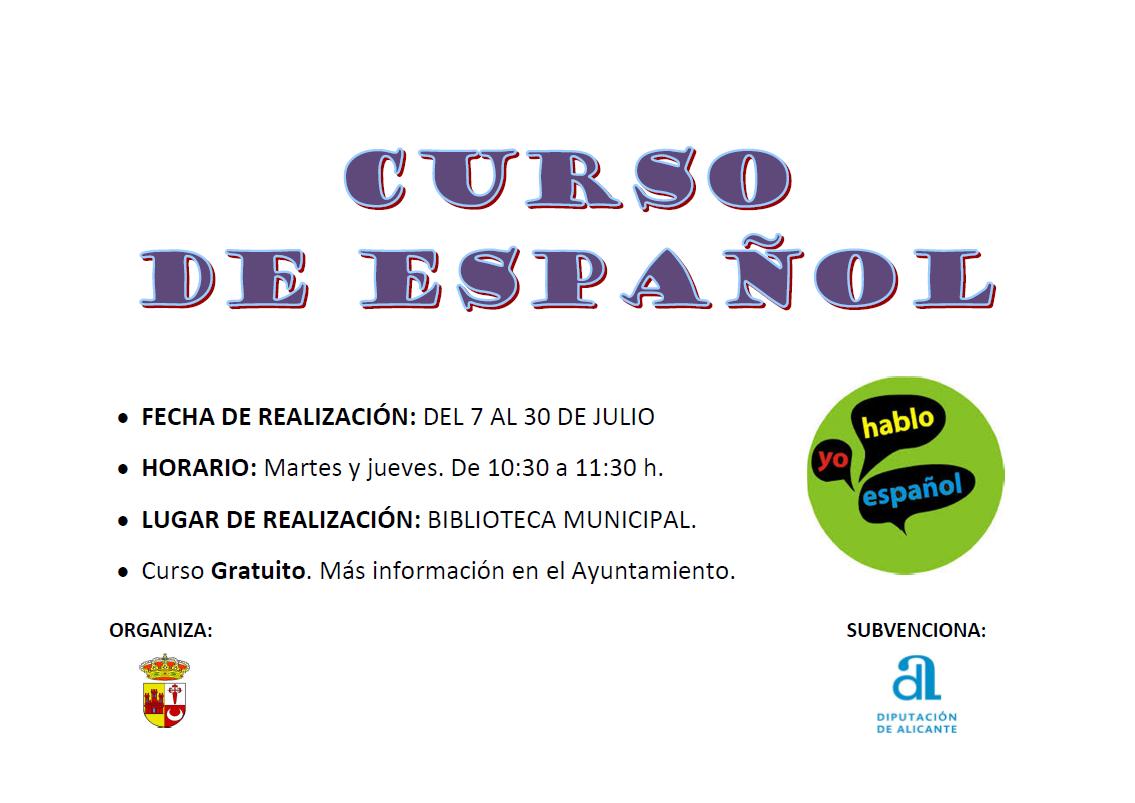 Curso de español (2020) - Murla (Alicante)
