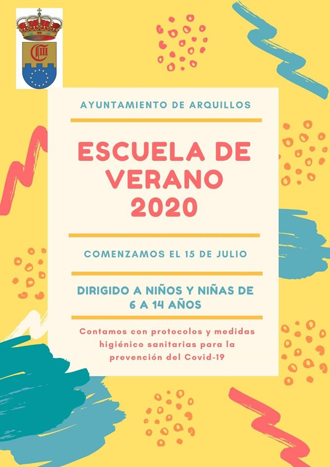 Escuela de verano 2020 - Arquillos (Jaén)