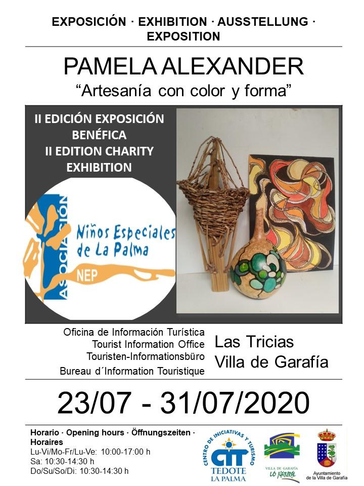 Exposición Artesanía con color y forma 2020 - Garafía (Santa Cruz de Tenerife)