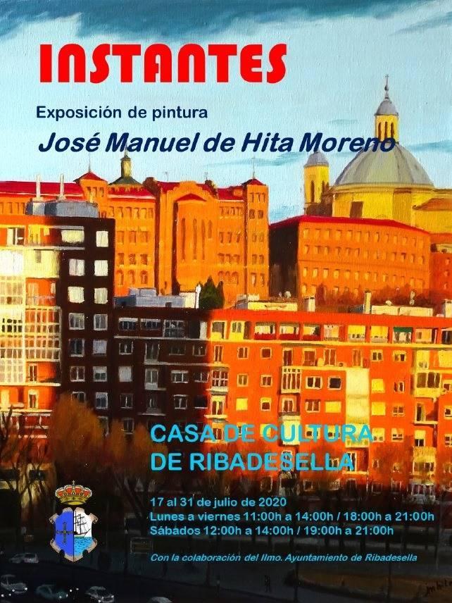 Exposición de pintura Instantes 2020 - Ribadesella (Asturias)