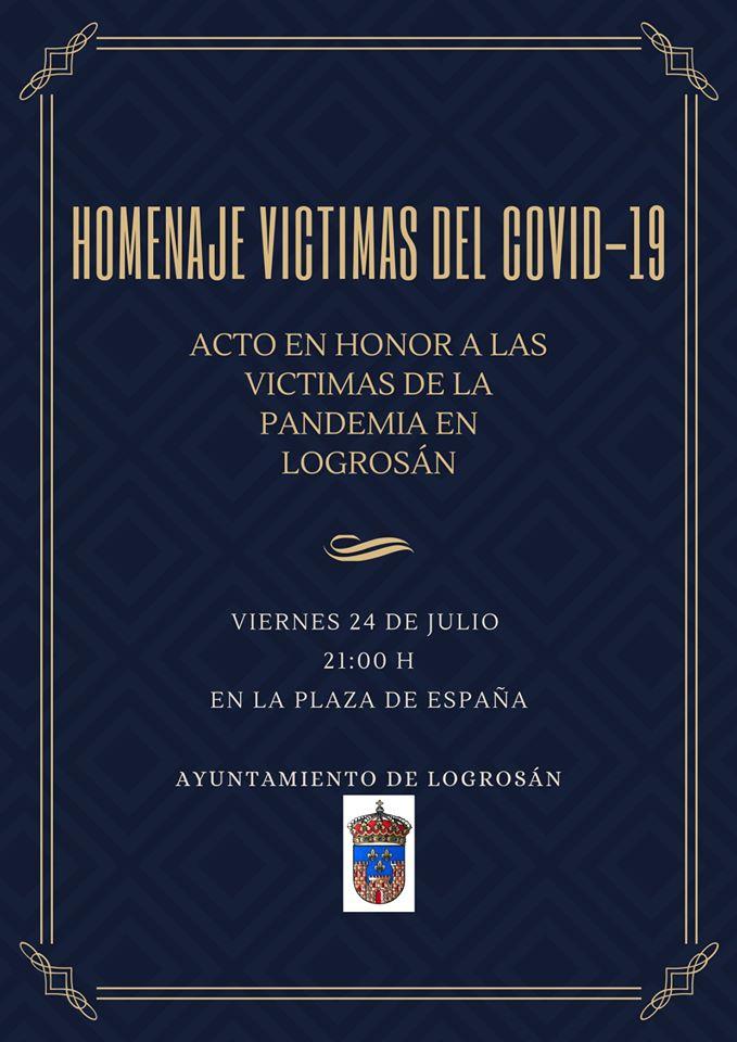 Homenaje a las víctimas del COVID-19 2020 - Logrosán (Cáceres)