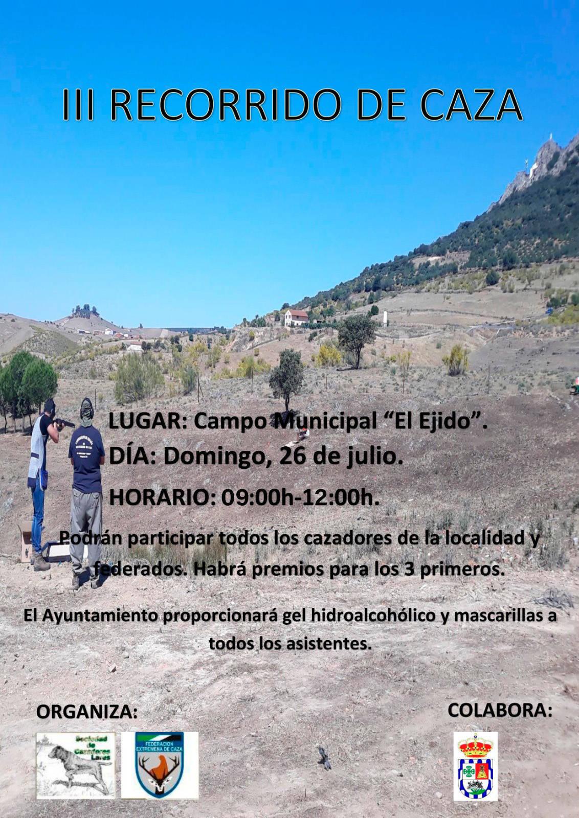 III recorrido de caza - Esparragosa de Lares (Badajoz)