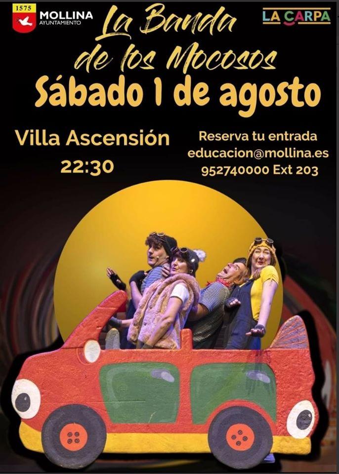 La banda de los mocosos 2020 - Mollina (Málaga)