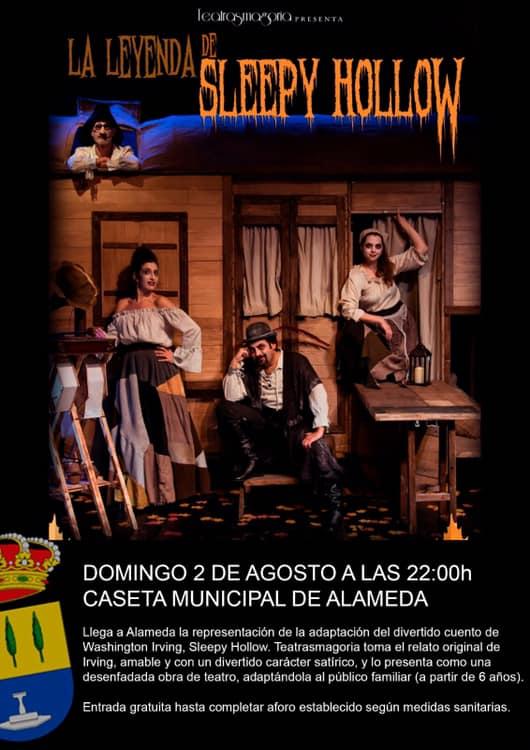 La leyenda de Sleepy Hollow 2020 - Alameda (Málaga)