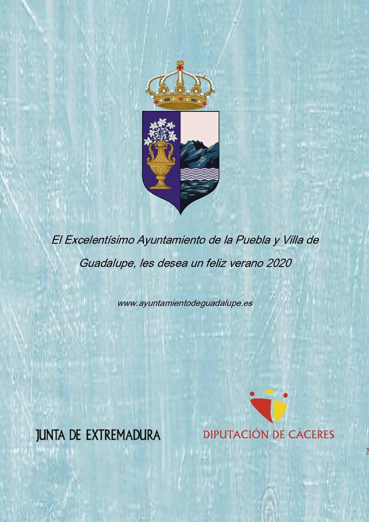 Programa cultural de verano 2020 - Guadalupe (Cáceres) 11