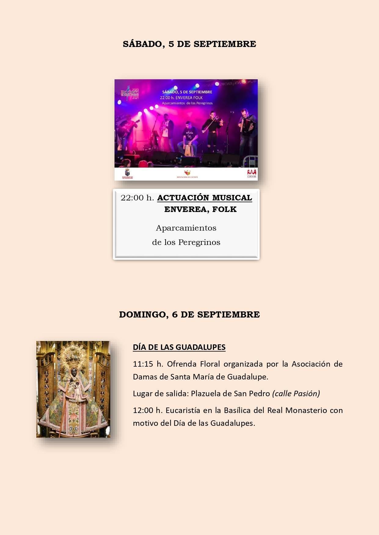 Programa cultural de verano 2020 - Guadalupe (Cáceres) 8