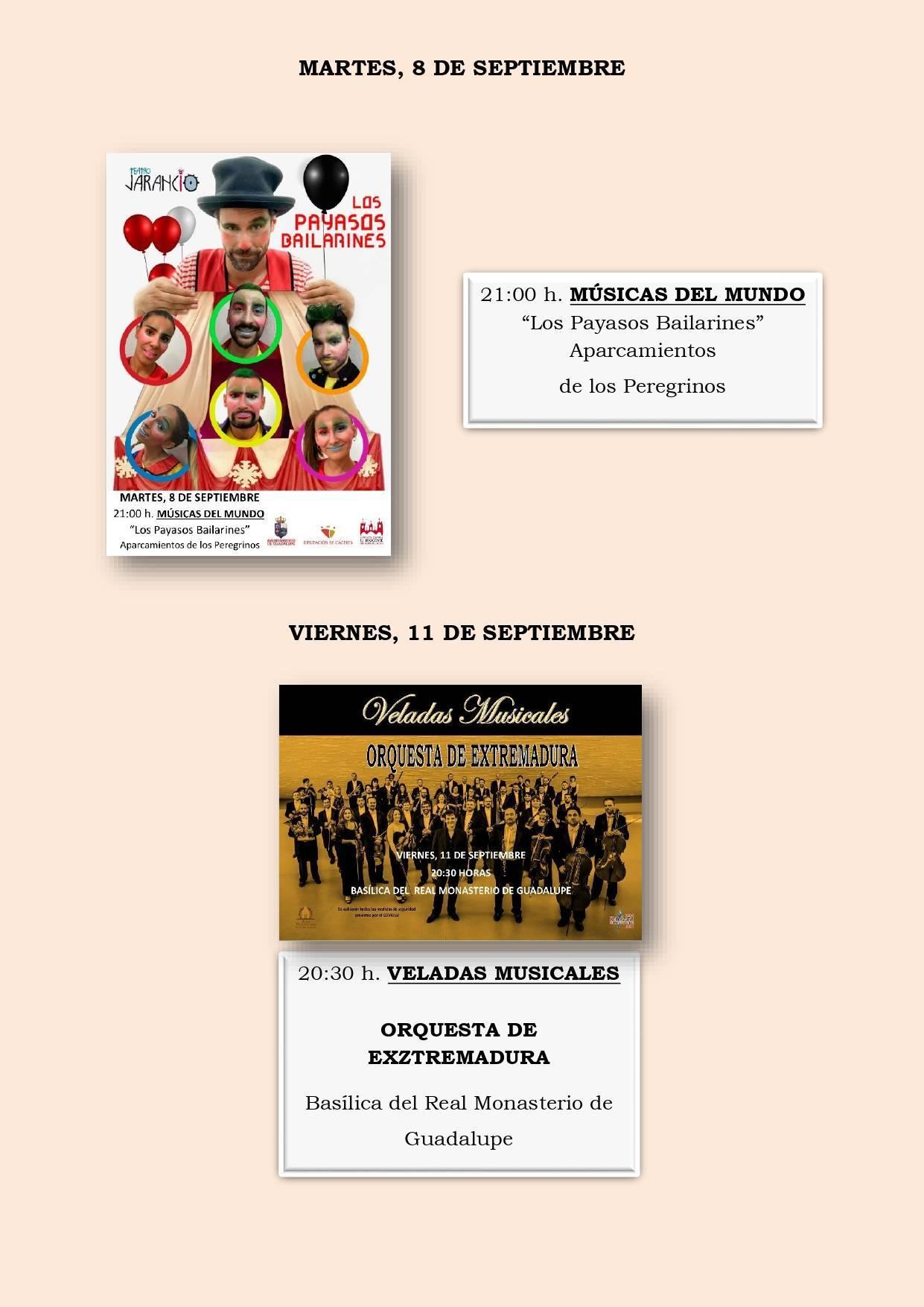 Programa cultural de verano 2020 - Guadalupe (Cáceres) 9