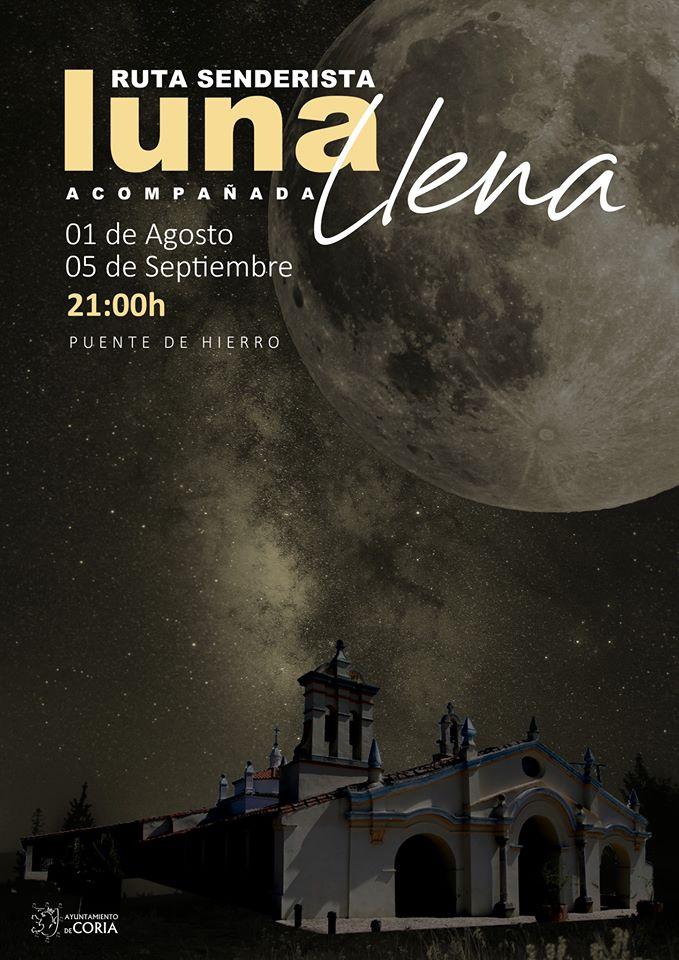 Ruta senderista luna llena 2020 - Coria (Cáceres)