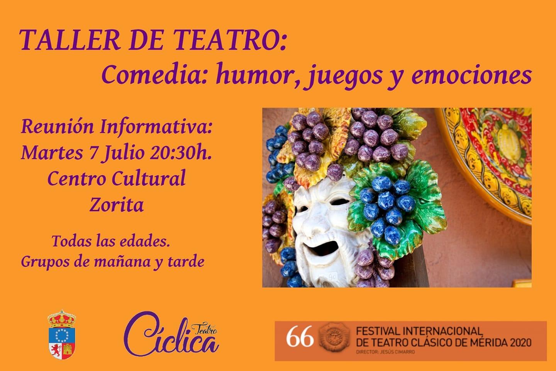 Taller de teatro 2020 - Zorita (Cáceres)
