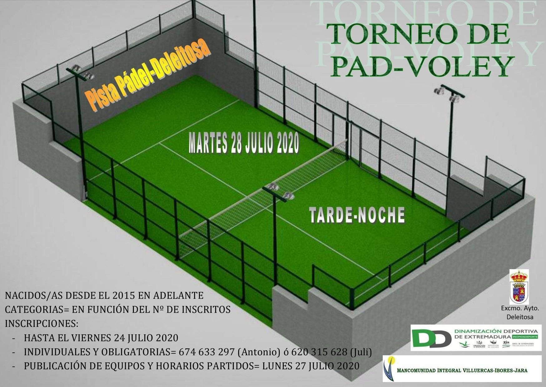 Torneo de pad-voley 2020 - Deleitosa (Cáceres)
