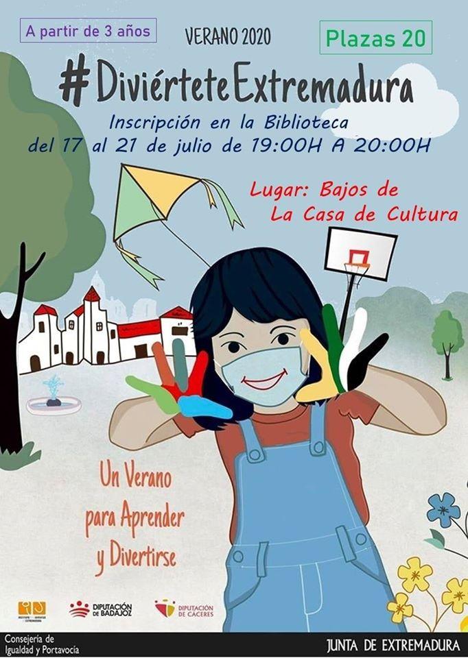 Un verano para aprender y divertirse 2020 - La Cumbre (Cáceres)