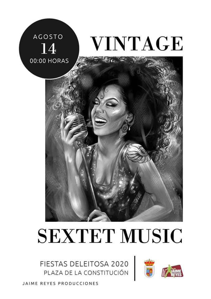 Vintage sextet music 2020 - Deleitosa (Cáceres)