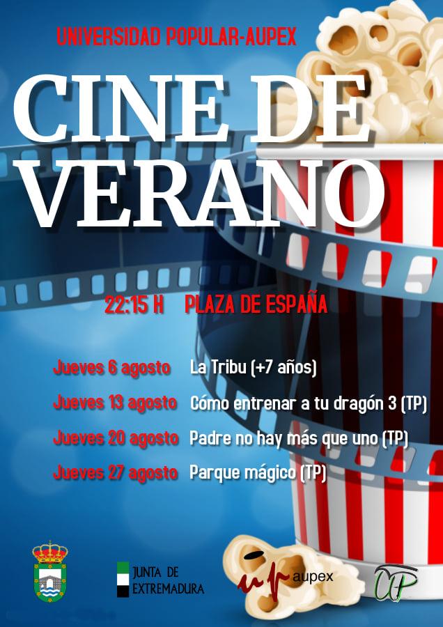 Cine de verano 2020 - Losar de la Vera (Cáceres)