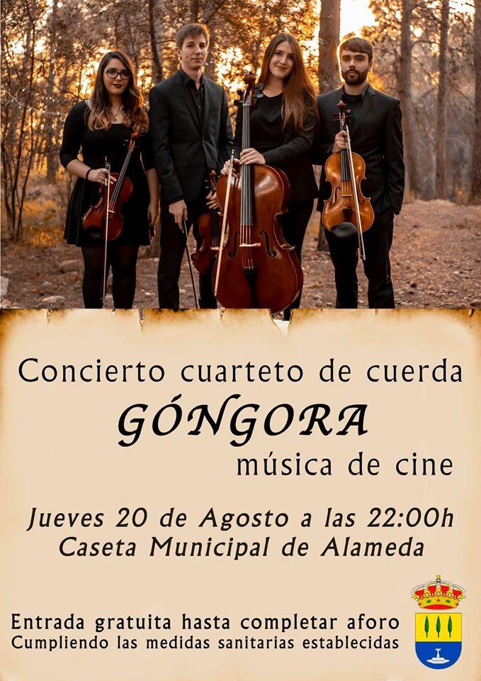 Cuarteto Góngora (2020) - Alameda (Málaga)