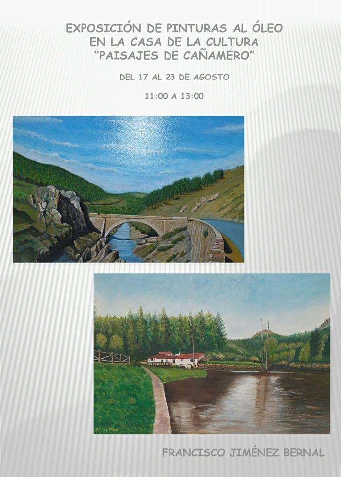 Exposición de pinturas al óleo (2020) - Cañamero (Cáceres)