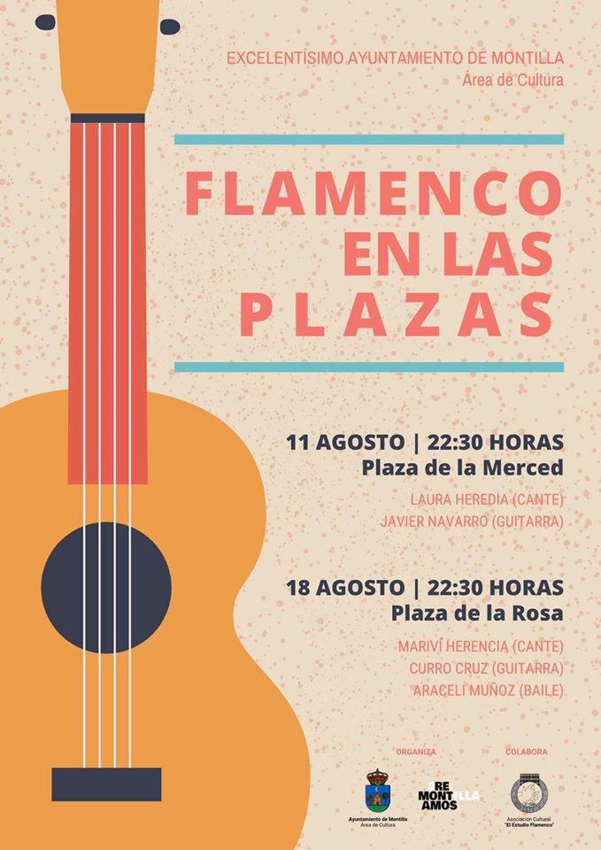 Flamenco en las plazas 2020 - Montilla (Córdoba)