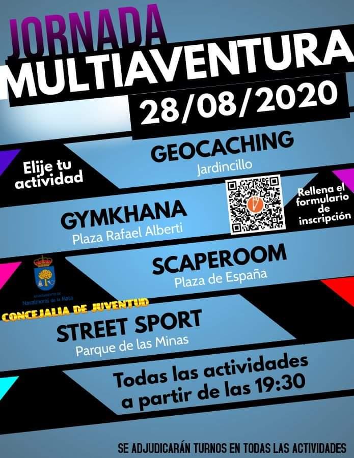 Jornada multiaventura (agosto 2020) - Navalmoral de la Mata (Cáceres)