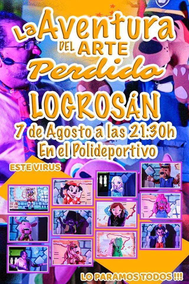 La aventura del arte perdido 2020 - Logrosán (Cáceres)