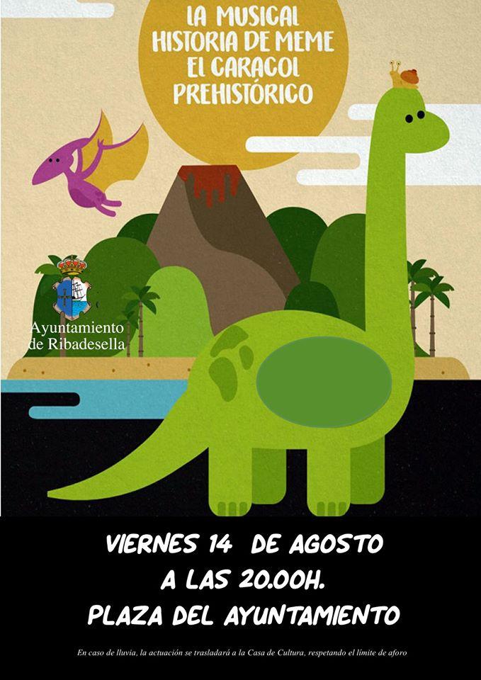 La musical historia de Meme, el caracol prehistórico (2020) - Ribadesella (Asturias)