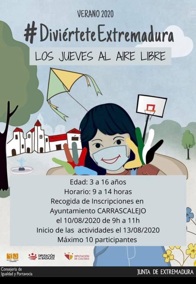 Los jueves al aire libre 2020 - Carrascalejo (Cáceres)