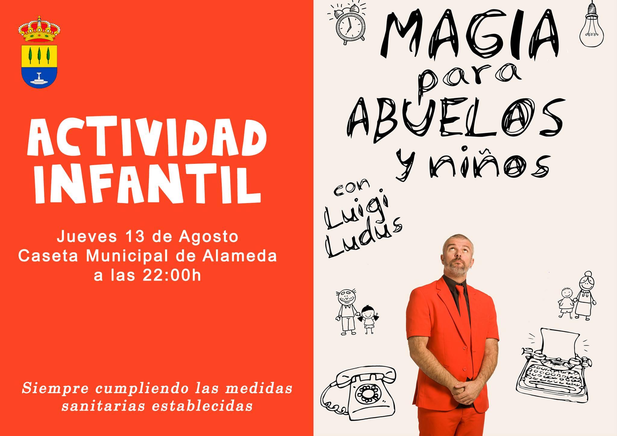 Magia para abuelos y niños 2020 - Alameda (Málaga)