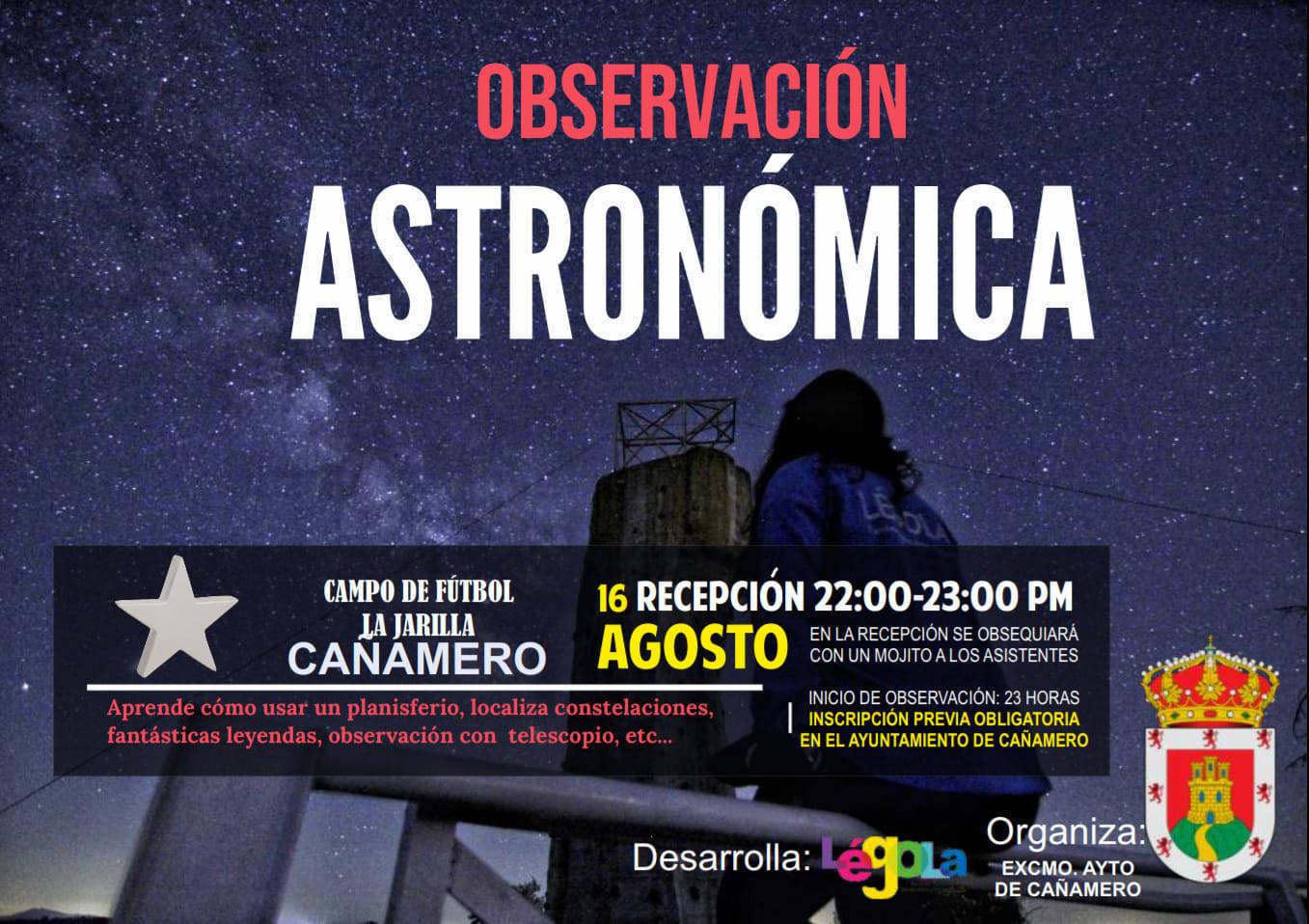 Observación astronómica (2020) - Cañamero (Cáceres)