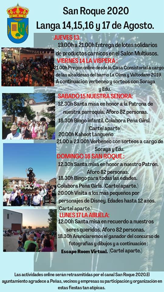 San Roque 2020 - Langa (Ávila)