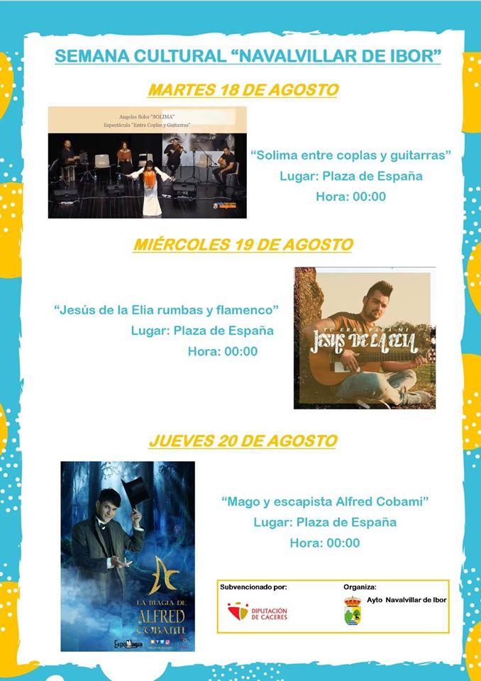 Semana cultural (2020) - Navalvillar de Ibor (Cáceres)