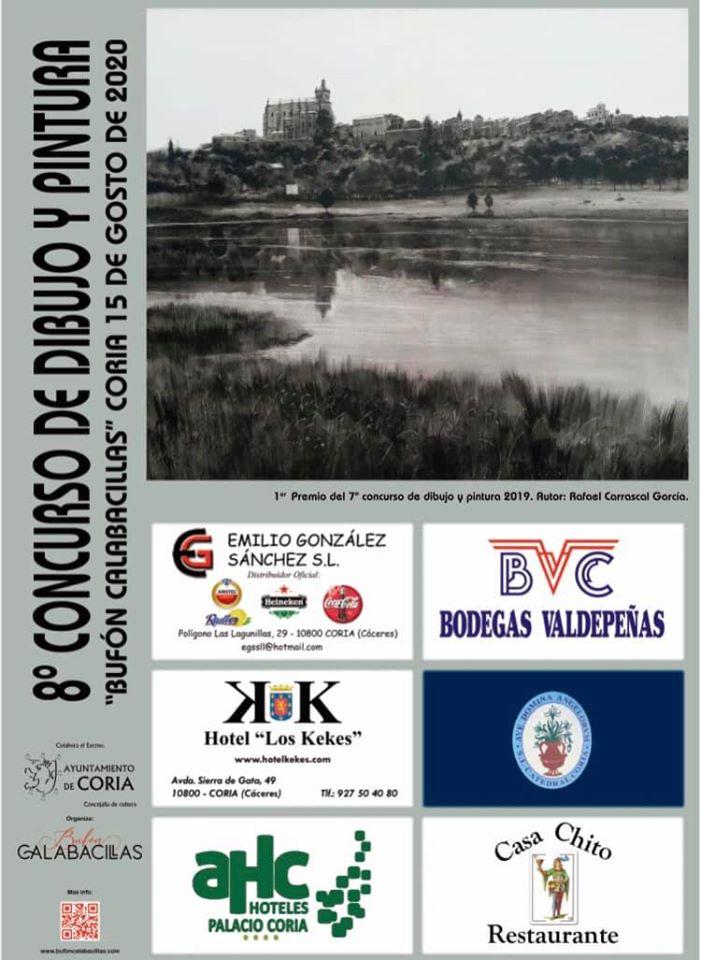 VIII concurso de dibujo y pintura - Coria (Cáceres)