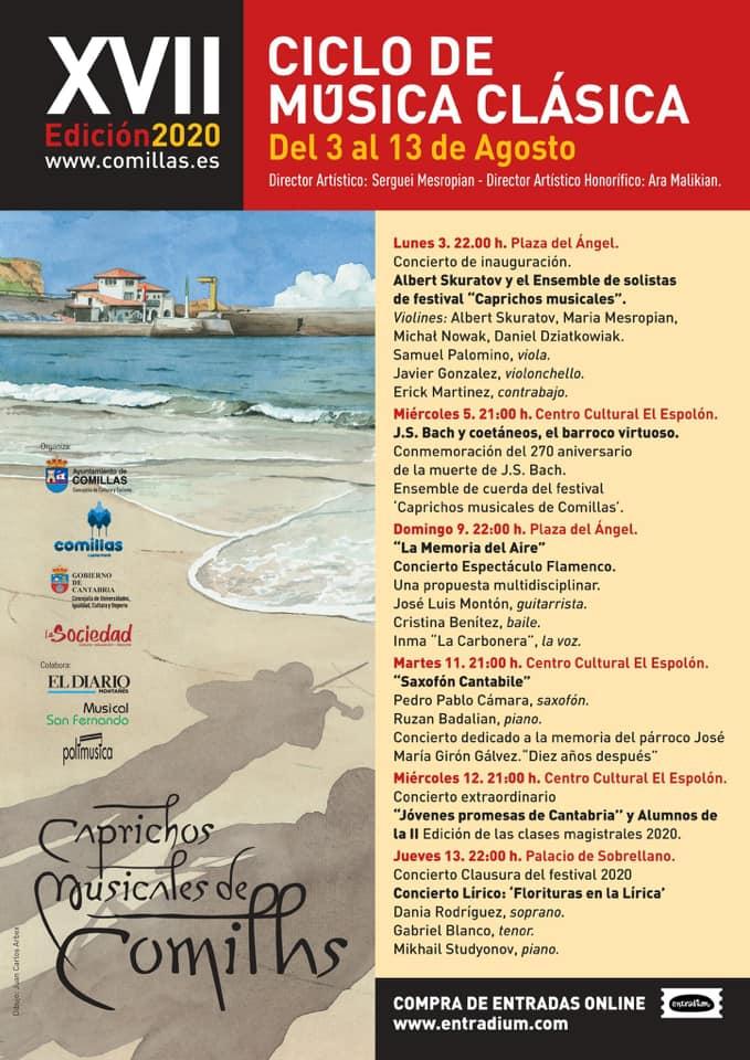 XVII festival de música clásica - Comillas (Cantabria)