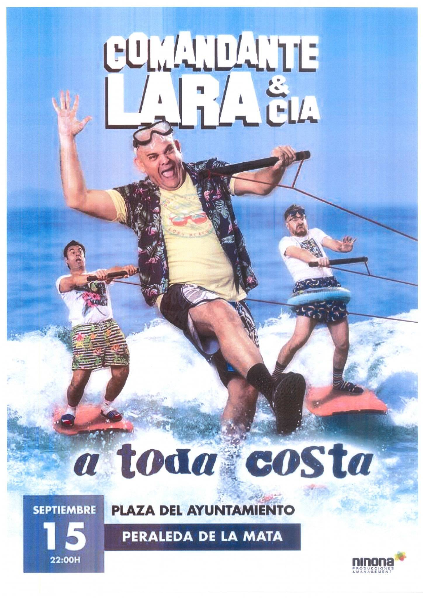 Comandante Lara & Cía (2020) - Peraleda de la Mata (Cáceres)
