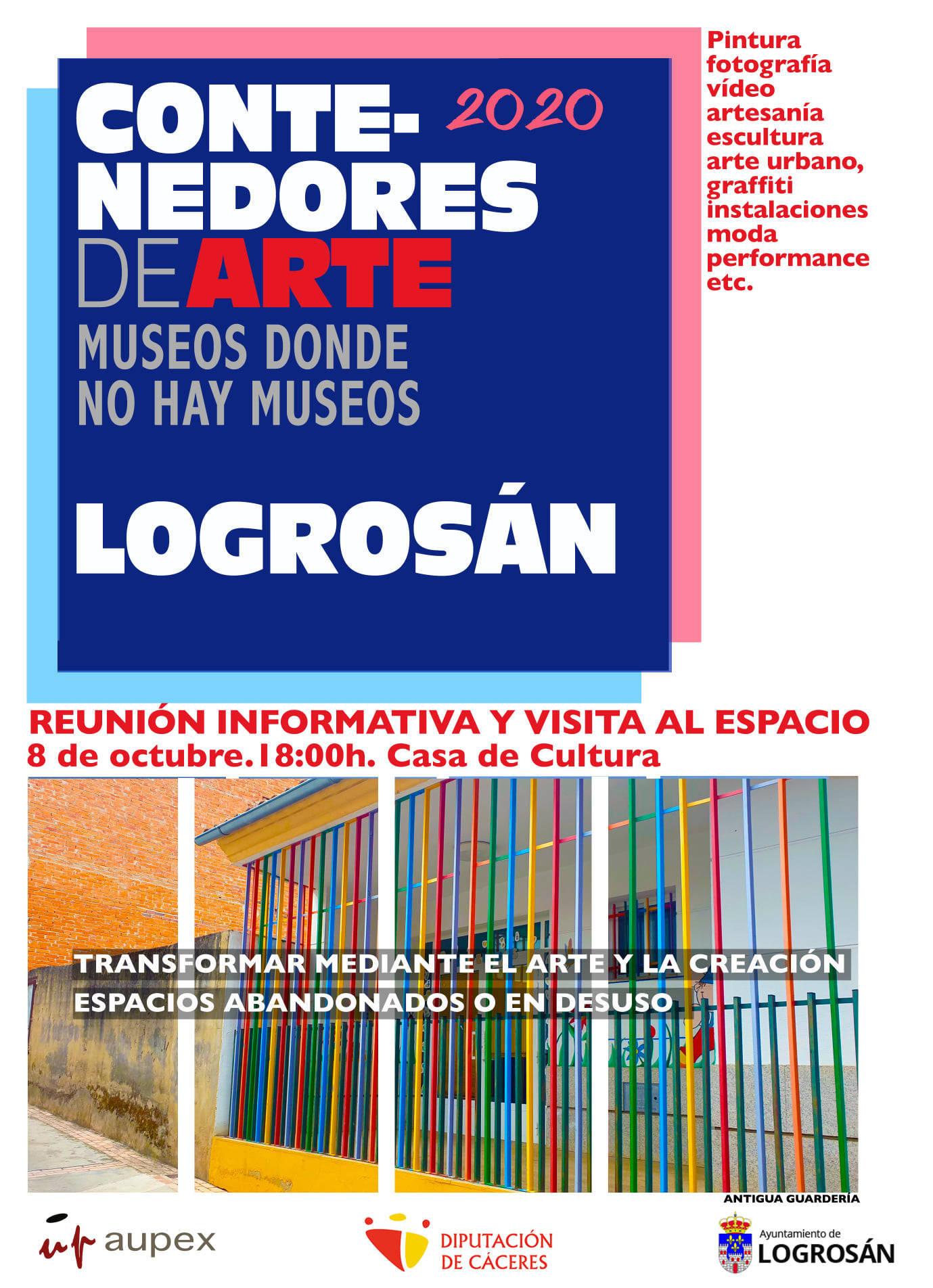 Contenedores de arte (2020) - Logrosán (Cáceres)