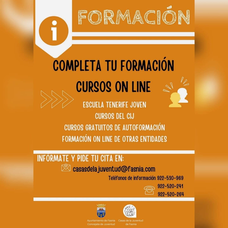 Cursos online (2020) - Fasnia (Santa Cruz de Tenerife)