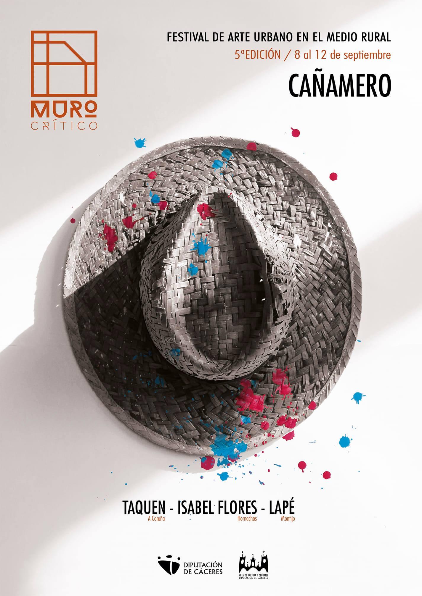 Festival de arte urbano en el medio rural (2020) - Cañamero (Cáceres)
