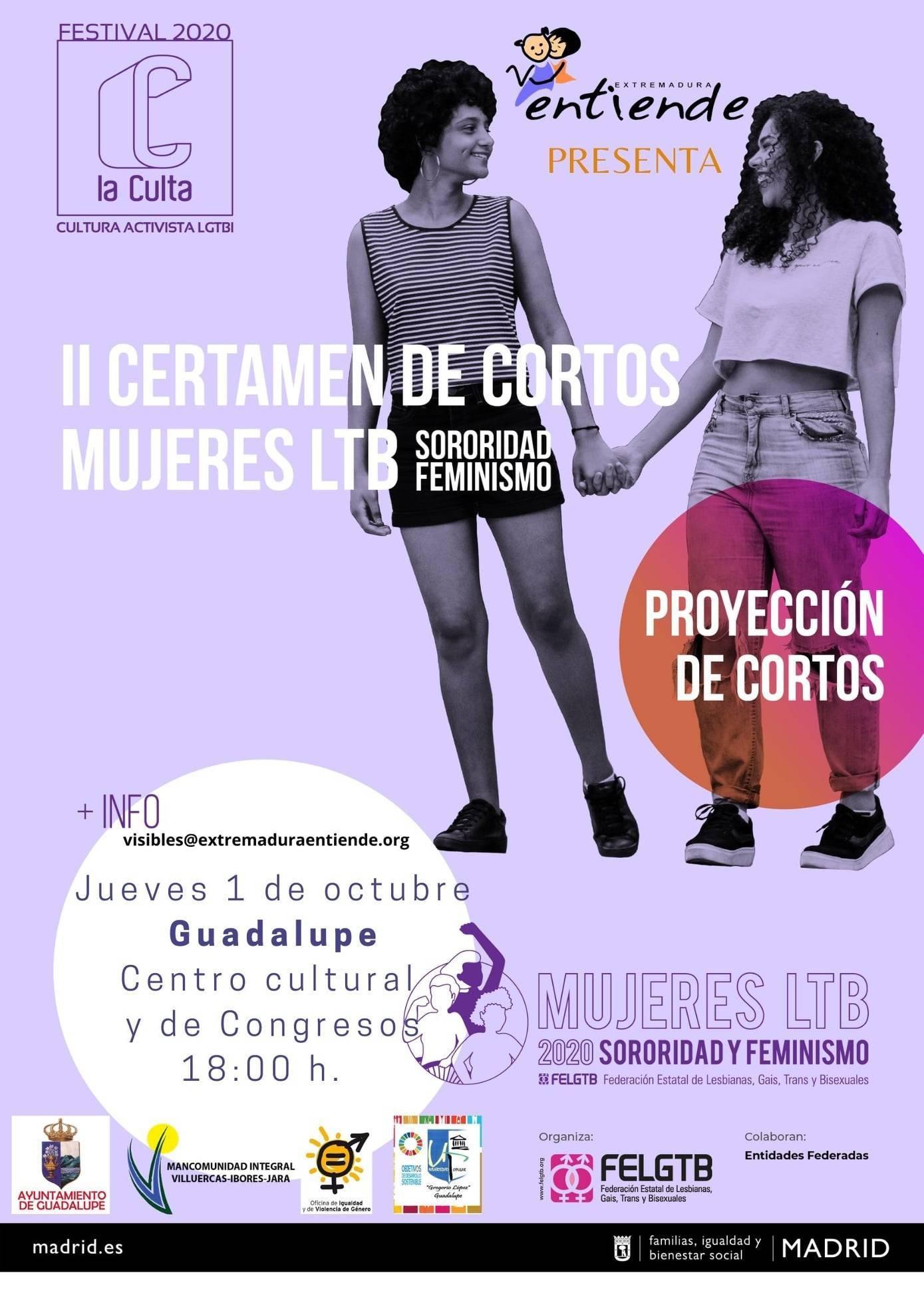 II certamen de cortos mujeres LTB - Guadalupe (Cáceres)