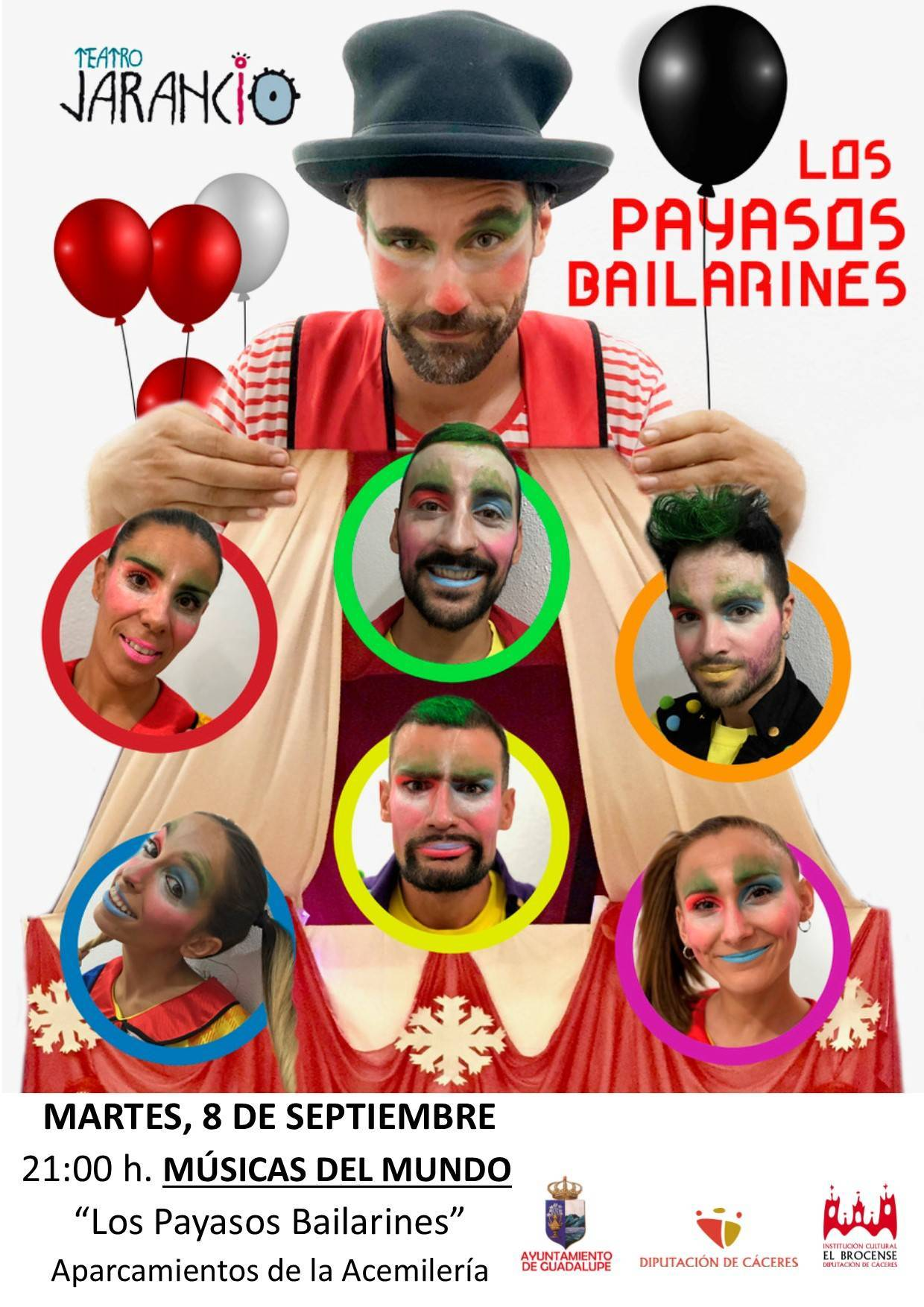 Los payasos bailarines (2020) - Guadalupe (Cáceres)