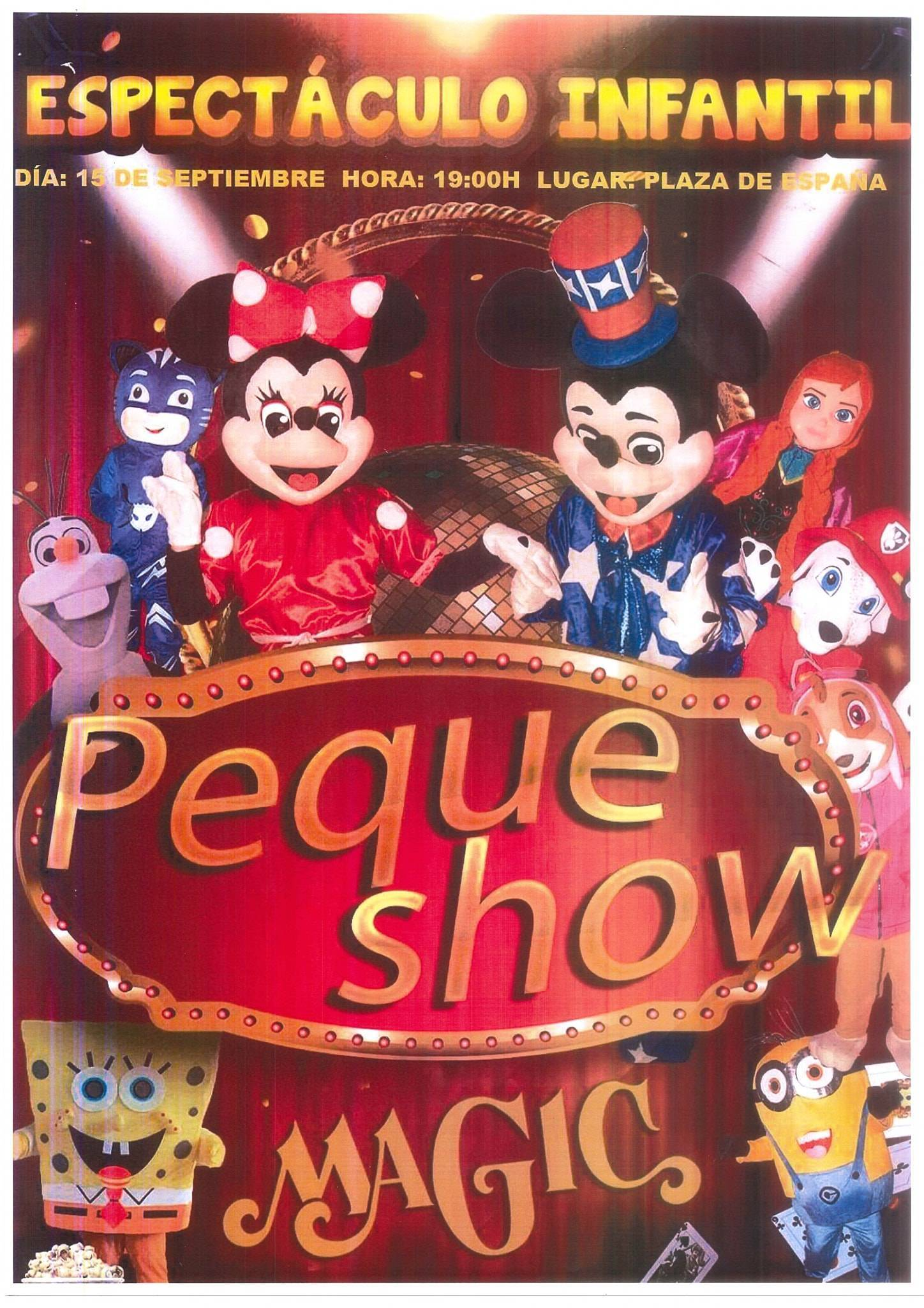 Peque Show Magic (2020) - Peraleda de la Mata (Cáceres)