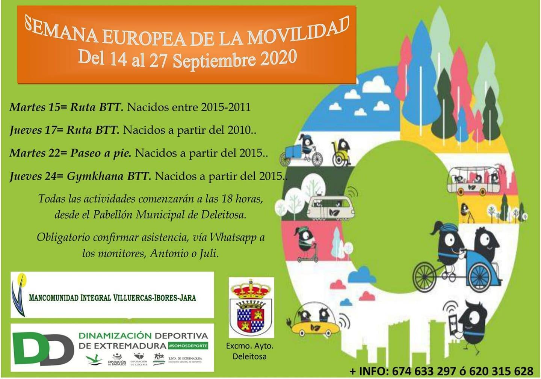 Semana Europea de la Movilidad (2020) - Deleitosa (Cáceres)