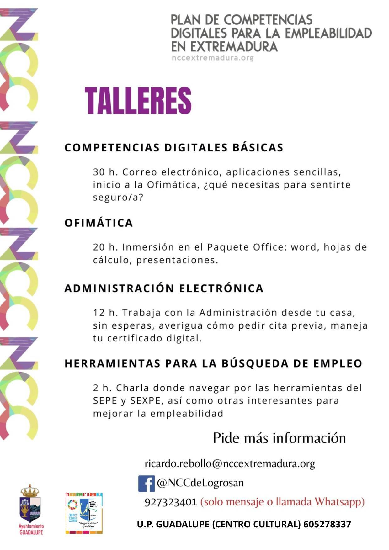 Talleres NCC (2020) - Guadalupe (Cáceres)