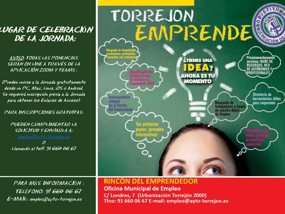 Torrejón emprende (septiembre 2020) - Torrejón de Ardoz (Madrid)