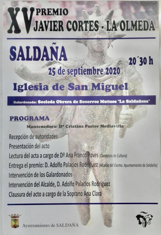 XV Premio Javier Cortes - Saldaña (Palencia)