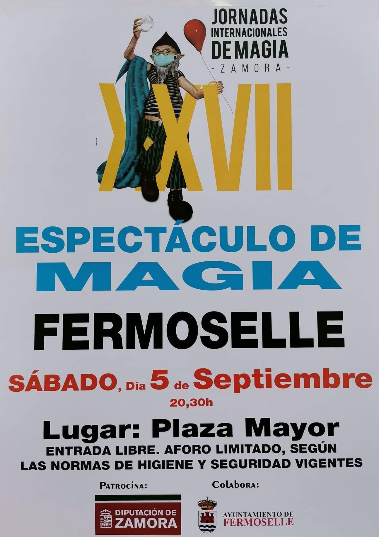 XXVII espectáculo de magia - Fermoselle (Zamora)