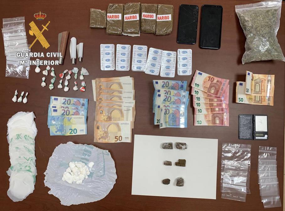 Detenido un varón por un posible delito de tráfico de drogas (octubre 2020) - Guadalupe (Cáceres)