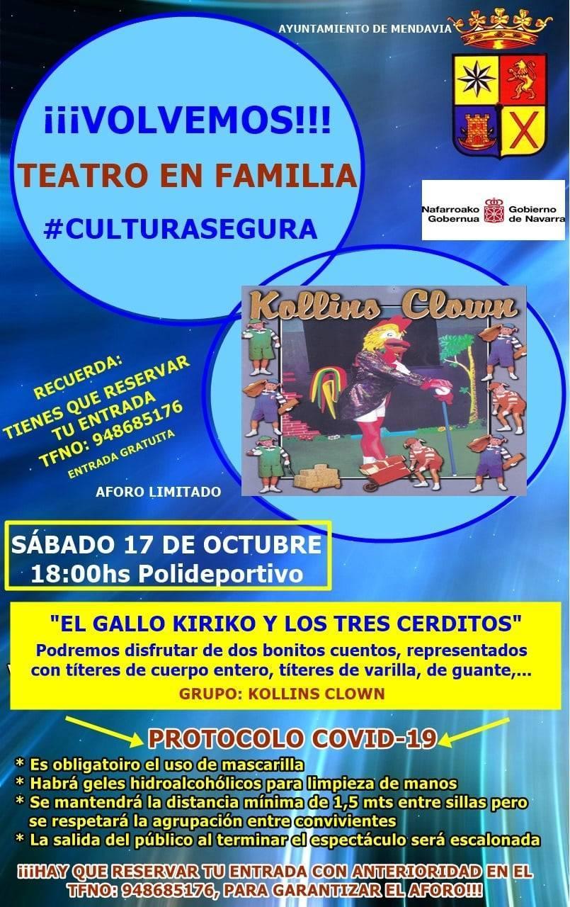 El gallo Kiriko y los tres cerditos (2020) - Mendavia (Navarra)