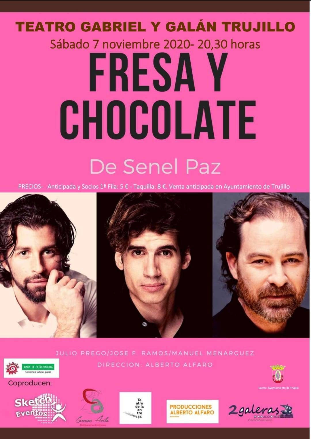 Fresa y chocolate (2020) - Trujillo (Cáceres)