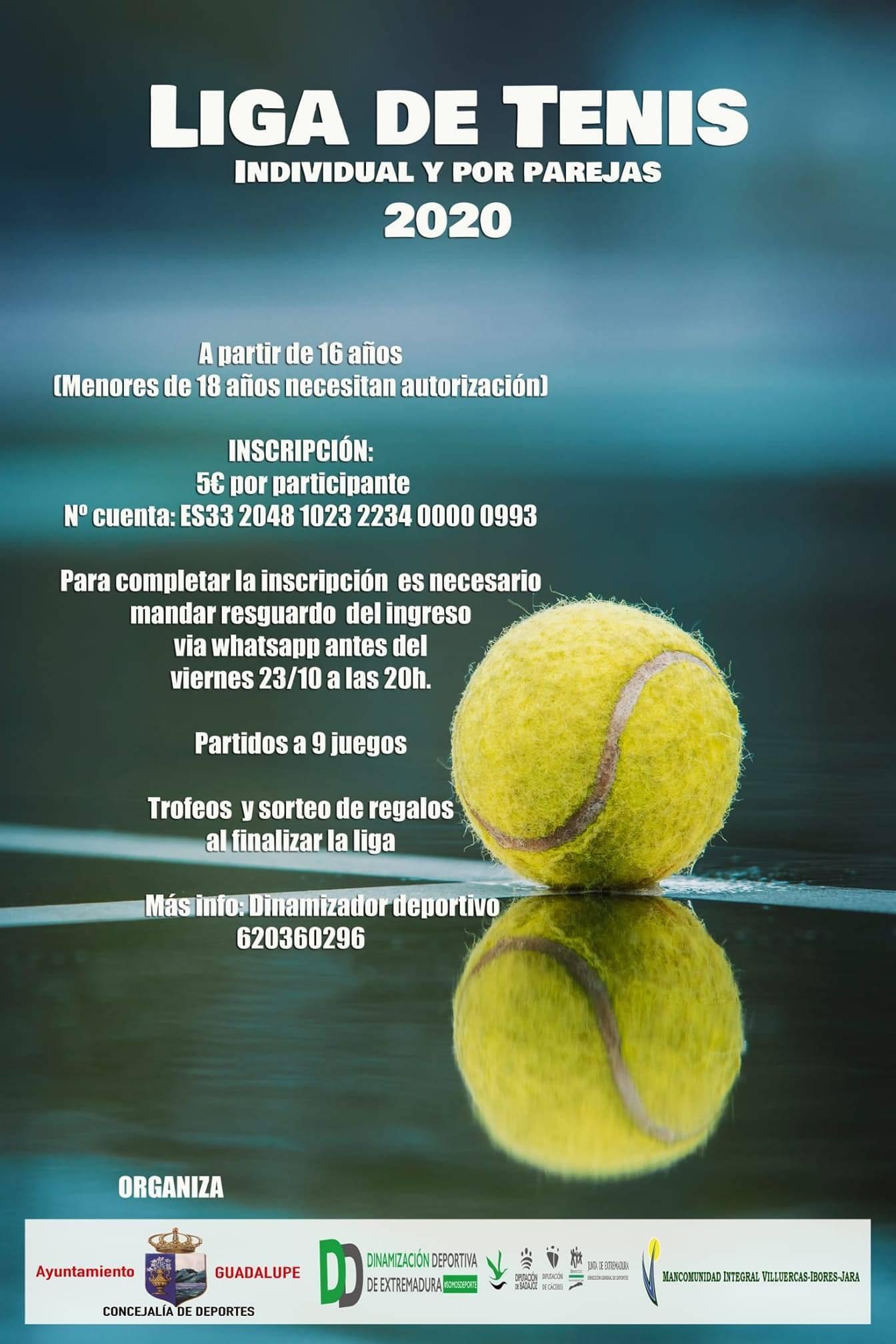 Liga de tenis (2020) - Guadalupe (Cáceres)