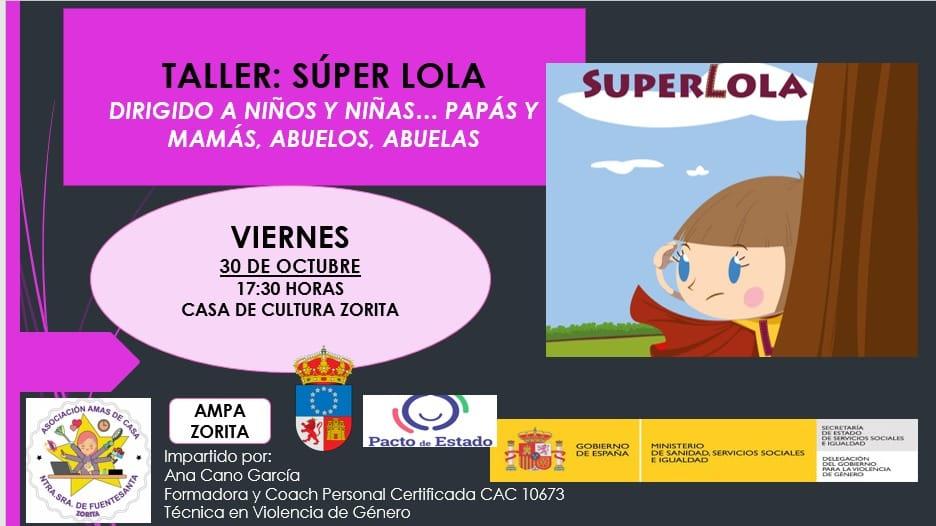 Taller Súper Lola (2020) - Zorita (Cáceres)