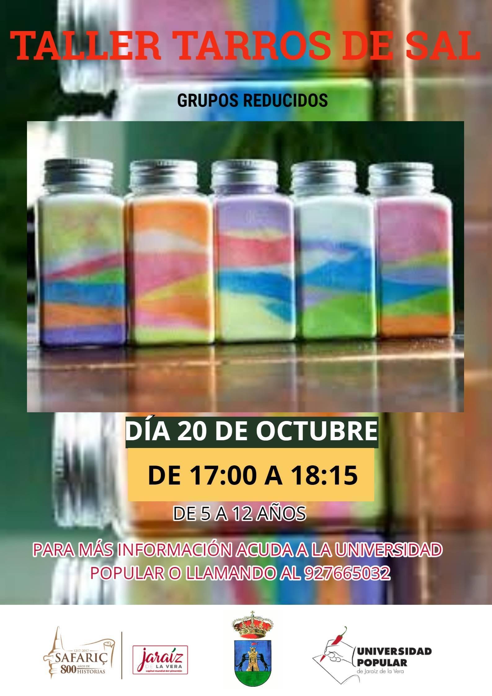 Taller de tarros de sal (2020) - Jaraíz de la Vera (Cáceres)